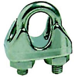 SERRE-CABLE ETRIER INOX CABLE Ø 5 MM (LOT DE 2) - ENVOI SOUS 24 H