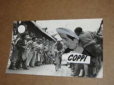 FOTOGRAFIA ORIGINALE DI FAUSTO COPPI E GINO BARTALI 10X18