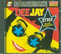 Radio Deejay Style - George Michael/Inxs/Jovanotti/Duran Duran Cd Ottimo