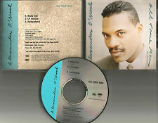 ALEXANDER O'NEAL All true Man 3TRX RADIO EDIT & INSTRUMENTAL PROMO DJ CD single