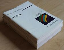 Amiga Handbücher für Commodore A1200