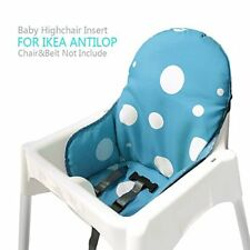 Ikea Antilop Highchair Seat Covers & Cushion Insert Mat Blue