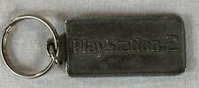 Playstation 2 Metal Key Chain Game Tab Vintage
