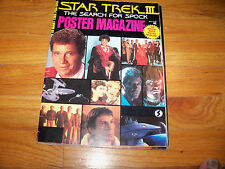 Star Trek 3 The Search for Spock Poster Magazine   10 - 16 x 22 inch posters