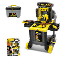 Mechaniker Wagen Technikwagen Werkstattwagen für Kinder Werkzeug Werkzeugkoffer
