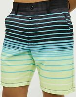 NWT Sz 36 RING OF FIRE MEN'S Undertow HYBRID SHORTS 4-way stretch Swimsuit