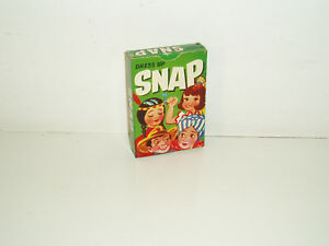 """Vintage card game """"Dress up Snap"""" No. 5860 by Tower Press. 1950s."""