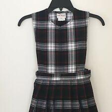 Becky Thatcher Elderwear Girls Jumper Dress 6X School Uniform Plaid