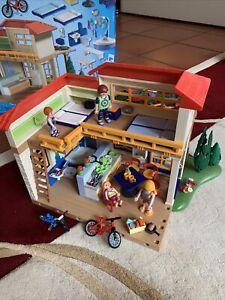 Playmobil 4857 Ferienhaus Toskana Set  mit Anleitung Top Zustand!