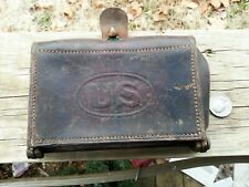 Rock Island Arsenal 1904 McKeever U. S. Army Leather Cartridge Pouch