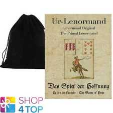 PRIMAL LENORMAND THE GAME OF HOPE ORACLE CARDS DECK ASTROLOGY AGM VELVET BAG