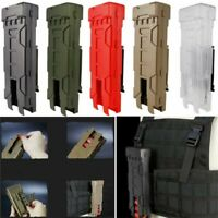 Tactical Molle 10 Round Shell 12 Gauge Carrier Holder Pouch Fast Reload