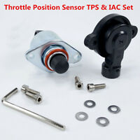 New Throttle Position Sensor TPS & IAC Set For LS1 LS2 LS3 LS6 LS7 LSX GM Holden