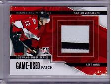 CARTER VERHAEGHE 13/14 ITG Game-Used Patch Subway Super Series #SSM-26 SP