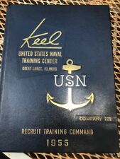 1955  US Navy Naval Training Center Yearbook  Great Lakes, Illinois  USN