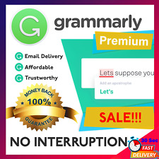 Grammar ly Premium 🔥 Lifetime Account 🔥 ⚡INSTANT DELIVERY⚡ 100% Guaranteed✔️