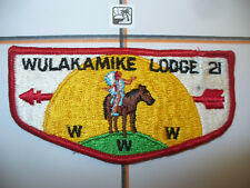 OA Wulakamike Lodge 21,S-1b,1973, First Flap,FF,128,222,308,512, Indianapolis,IN