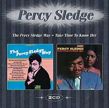 Percy Sledge - The Percy Sledge Way/Take Time To Know Her (2016)  2CD  NEW