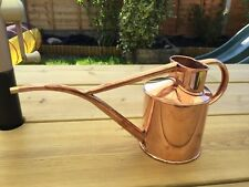 2 pint Copper genuine Haws watering can.
