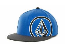 VOLCOM Hat 951 FLEX 210 Hat Grey Blue S/M ($35) NEW Cap Skate Surf Snowboard