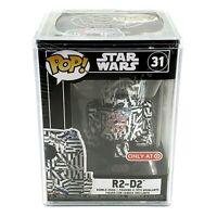 Funko Pop! Star Wars Futura R2-D2 #31 SEALED IN POP! STACK CASE Target Exclusive