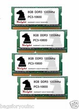 32GB KIT DDR3 1333 MHZ PC3 10600 (4X8GB) SODIMM