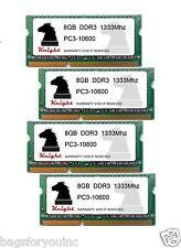 32GB KIT DDR3 1333 MHZ PC3 10600 (4X8GB) SODIMM