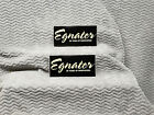 Egnater Amplifiers TWO Sticker Set<<>>RARE<<>>NOS for sale
