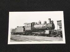 Antique Davenport Rock Island & Northwestern Railroad Locomotive No 52 Photo