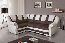 Garnitur Lord Ecksofa mit Bettfunktion Schlaffunktion Couch Wohnlandschaft 01547