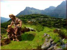 Alpenländisches Krippenlandschaft-Set Tirol, Krippenbau, Krippenlandschaft