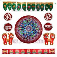Auspicious Diwali Rangoli & Decoration Set Deepawali Special Pattern Floor Decor
