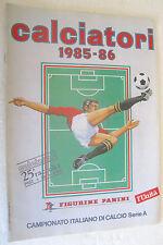 CALCIATORI 1985-1986 - ALBUM PANINI RISTAMPA L'UNITA'