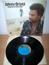 JOHNNY BRISTOL. HANG ON IN THERE BABY. 1974.  VINYL RECORD. 1970s   pop.