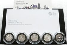 More details for 2019 celebrating 50 years british culture 50p fifty pence silver proof 5 coin