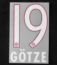 SCHWEINSTEIGER FAN-Shop-Flock für adidas Home FC Bayern München Trikot 2015-2016