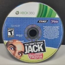 You Dont Know Jack (Xbox 360) DISC ONLY #9447
