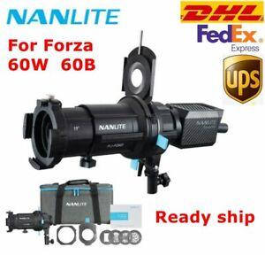 Nanlite 19° Focusing Optical Spotlight Snoot Zooming Lens Light Fr Forza 60W 60B