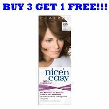 Clairol N Easy Non Permanent Hair Colour 8 Washes Light Brown 755