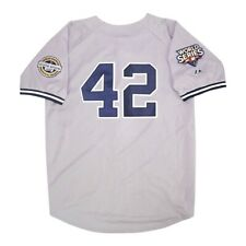 Mariano Rivera New York Yankees 2009 World Series Grey Road Jersey Men's Large