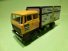 LION CAR 58 DAF 3300 - PARIS DAKAR - JAN DE ROOY DUTCH DEALER TEAM - 1:50 - NM