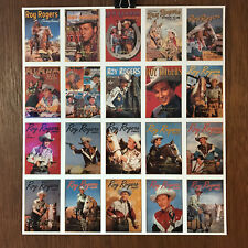 ROY ROGERS by ARROWCATCH 1992 UNCUT SHEET OF GOLD SIGNATURE & SERIES Rare Cards