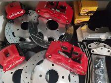 Datsun 240Z 260Z 280Z New FRONT & REAR Red Disc Brake 4 Piston Wilwood Stage 3