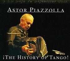 Astor Piazzolla: 5 CD Deja Vu Definitive Gold, The History Of Tango - Box 5 CD