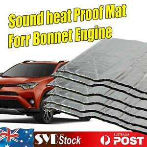 6 Sheet Auto Heat  Proof Sound Deadener Closed Cell Foam Insulation 50cm x 30cm
