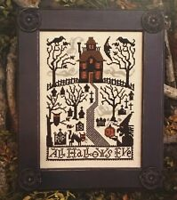 All Hallows Eve Halloween Prairie Schooler Cross Stitch Pattern 180 Original