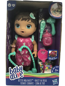 2018 Baby Alive Doll Set Hispanic BETTER NOW BAILEY Ages 3+ NEW!