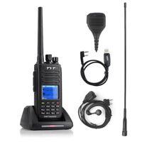 TYT MD-390 IP67 DMR UHF Digital Transceiver 1000CH + USB Cable + Remote Speaker