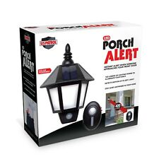 LED Porch Alert Light Motion Sensor Alarm Infrared Wireless Secure System