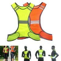 Reflektierende Sicherheitsweste Warnschutzjacke für Nachtlauf / Arbeit